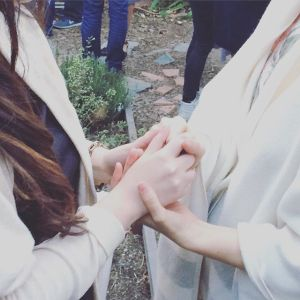 A couple supporting one another by holding hands. This could represent the support online couples therapy and marriage counseling in California offers. Contact an online therapist in California for support today!