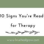 10 Signs You're Ready for Therapy