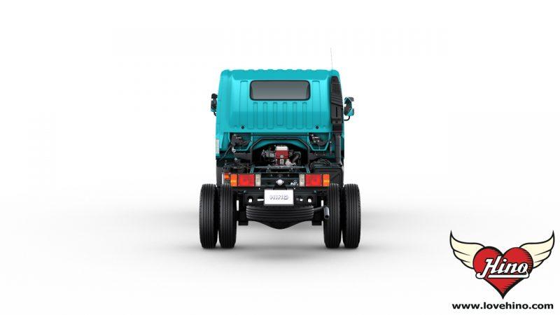 HINO 300 Innovator XZU720R ด้านหลัง