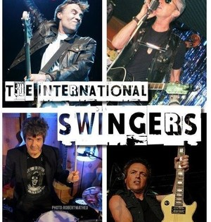 GET ON THE LIST with THE INTERNATIONAL SWINGERS at Redballs Rock & Roll Pizza