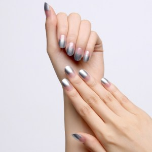 INCOCO YDL009 Dry Nail Art Design Silver Muse (Clear) 3