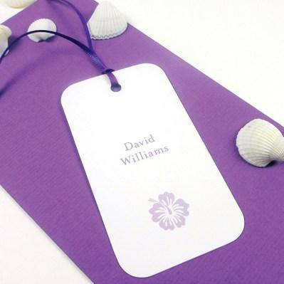 Wedding Placecard destination by Love Invited