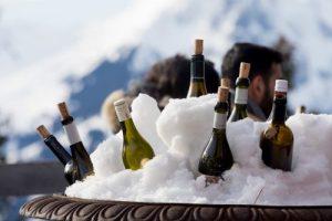 Winter Picknick mit Freunden - diesmal die edle Variante