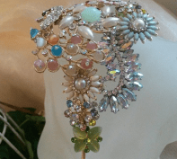 Pastel Beaded Hair Accessory