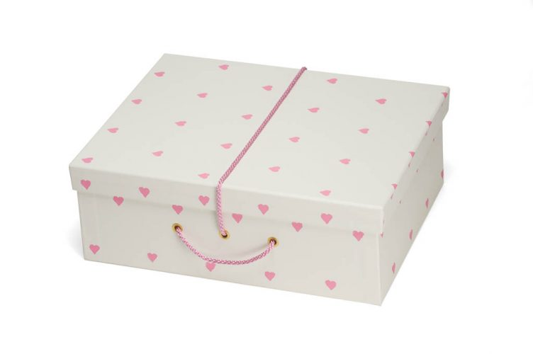 Wedding dress travel case box