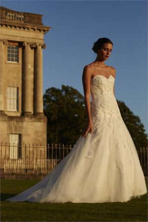 Romantica of Devon Salvador wedding dress
