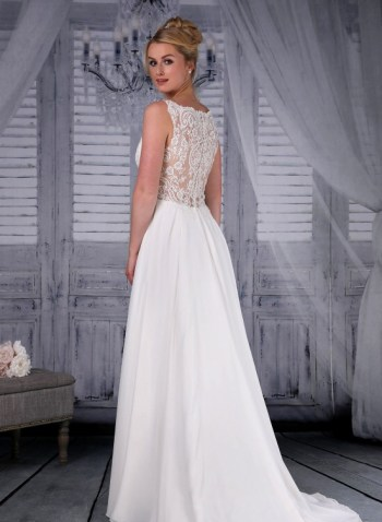 Signature Bridal Celeste back view