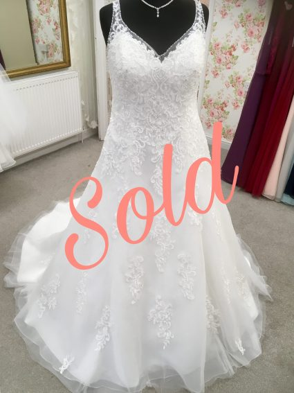 Alegria sold on the wedding dress marketplace