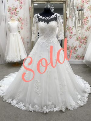 Breanna sold on the wedding dress marketplace