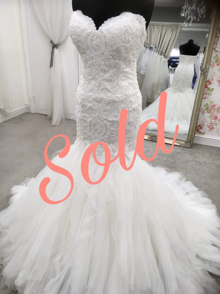 Sold on the wedding dress marketplace