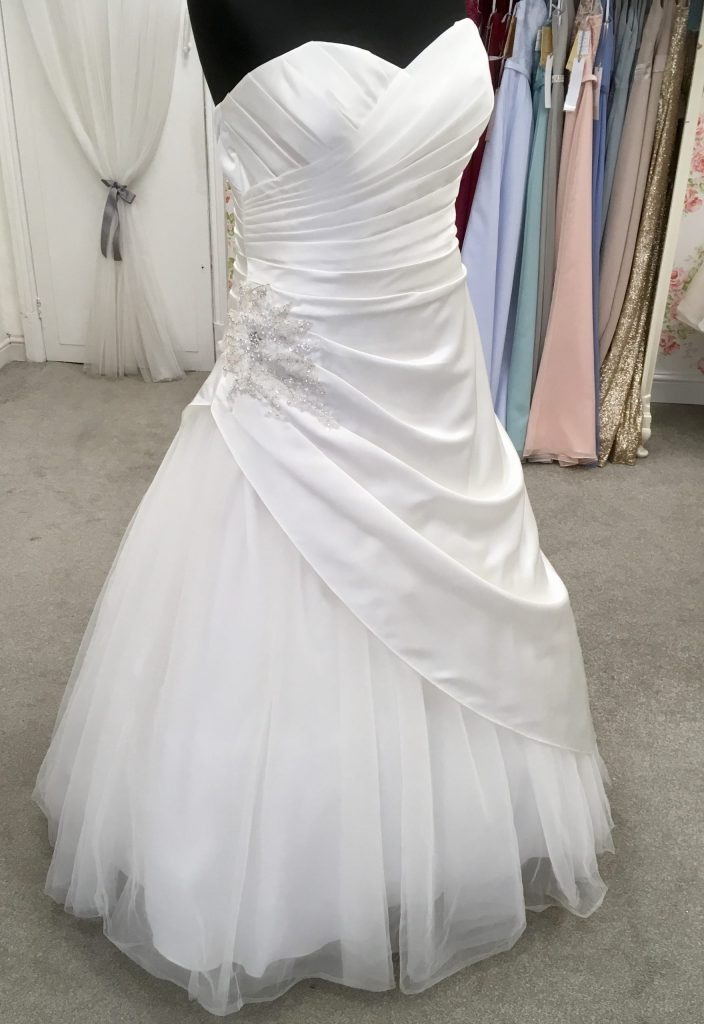 Berketex wedding dress