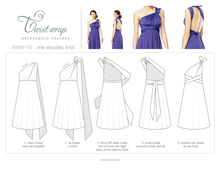 Twist_Dress_howto_one shoulder knot