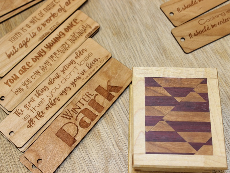 Wordsmith Wood Shop Items