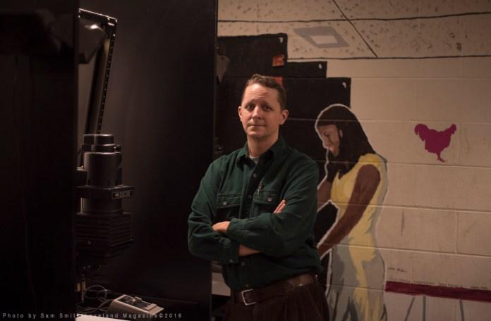 Photo teacher Jim Barrett