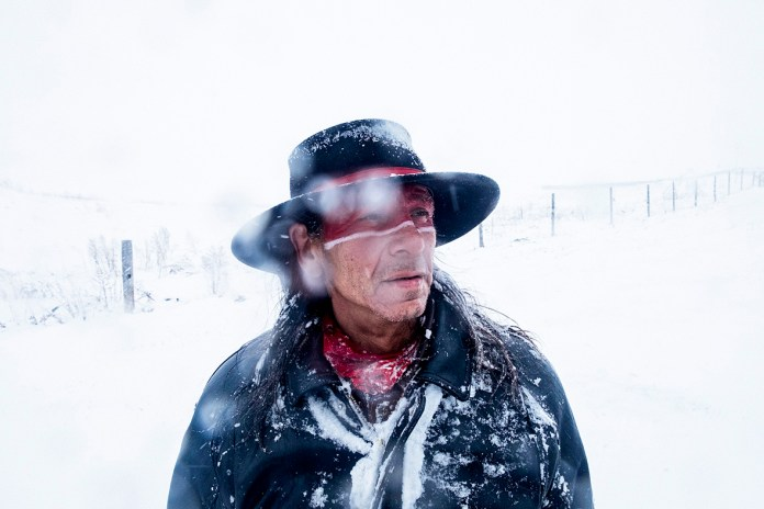 Most people at Oceti Sakowin, the main camp at Standing Rock, are suspicious of the Army Corps' announcement or consider it merely one battle won within a much larger war. The day after the news, on Dec. 5, there was a huge demonstration during which most of the camp marched against the wind into a blizzard, toward the bridge that the police had occupied.