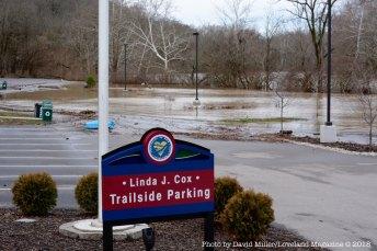The Linda Cox Trailside Parking lot.