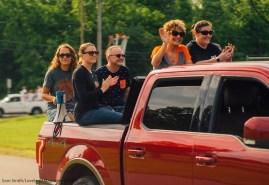 Loveland High School Teachers lead the parade