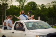 Dylan Tuttle blesses Loveland High School as Jesus
