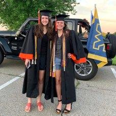 Samantha James and Emily Zirkelbach