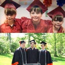 (left to right) Joey Jeffcott, Jack Jeffcott, and Brady Jeffcott