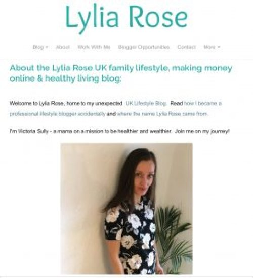lylia rose blog
