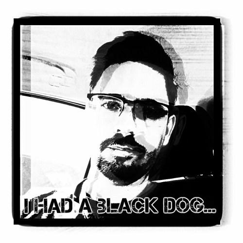 Matthew Williams black dog