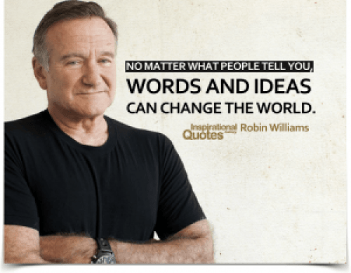 Robin Williams words quote