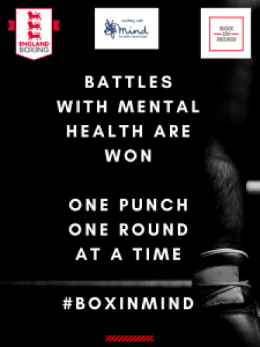 boxing and mental health - one punch at a time