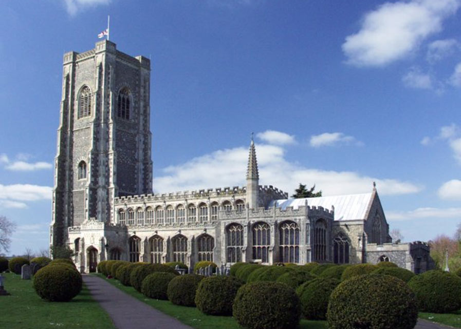 Lavenham Church, Suffolk
