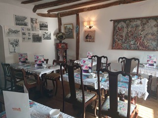 Lavenham Blue Vintage Tea Rooms