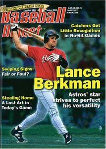 Lance Berkman, Baseball Digest magazine