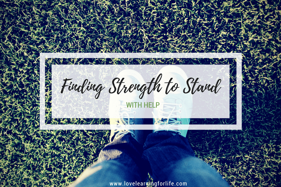 Finding Strength to Stand