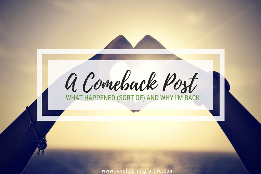 A Comeback Post