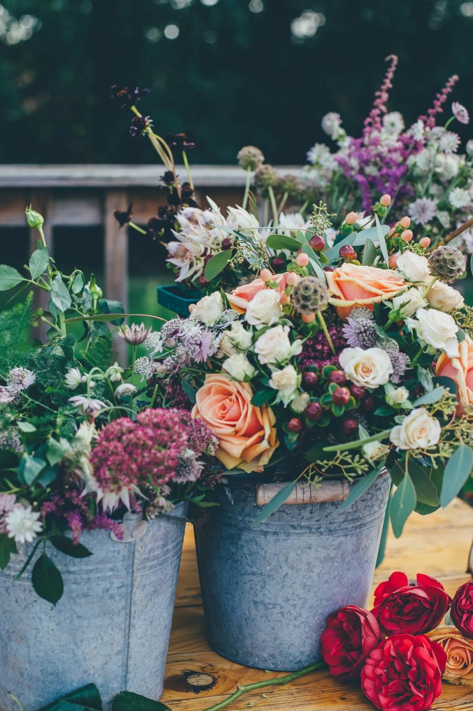 Support small wedding businesses by buying flowers from your florist.