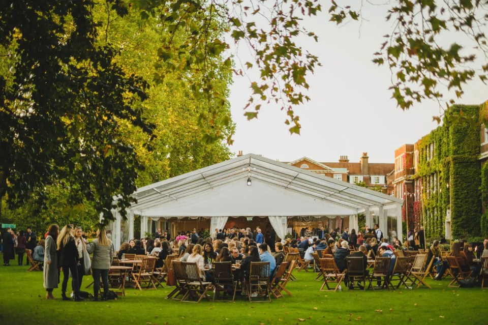Regent's Conferences & Events in Regent's Park outdoor wedding venue uk