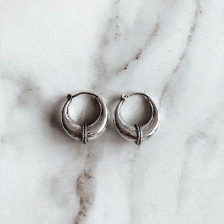 Bold Hoops Small