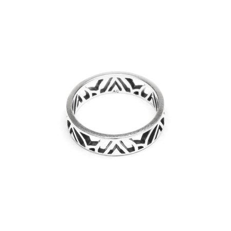 Sterling Silver Mawu Ring by Aloha Gaia