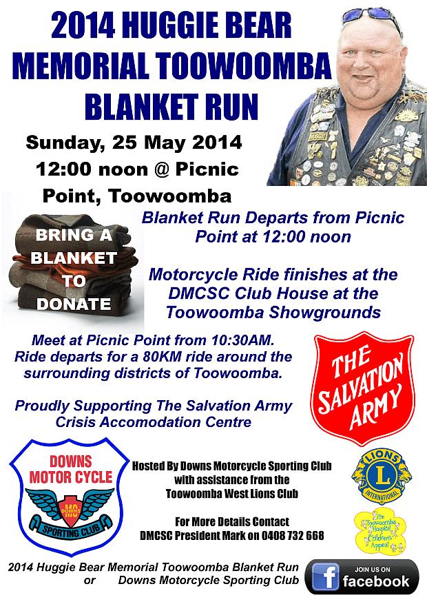 Blanket Run Flyer 2014