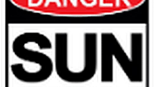 danger sun