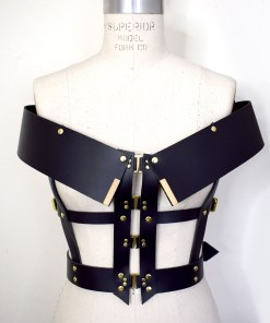 leather harness, lovelornlingerie