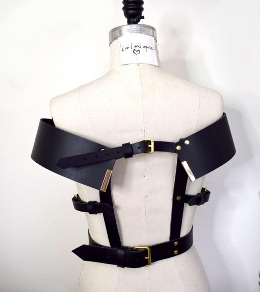 leather harness, lovelornlingerie