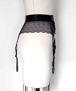 lace garter belt, love lorn lingerie