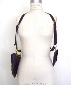 leather harness bags