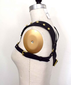 Asymmetrical Leather Harness