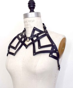 high neck shoulder harness