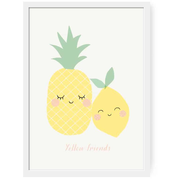 ZÜ Affiche Yellow Friends