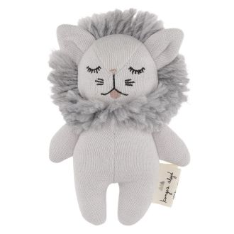 Petit hochet lion gris Konges Slodj