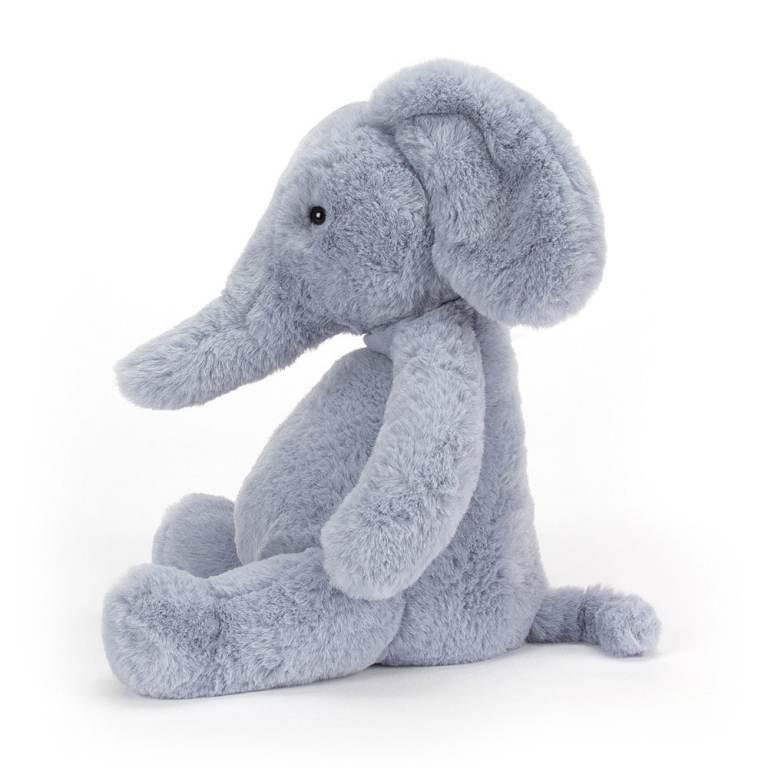 Jellycat - Peluche éléphant puffles.