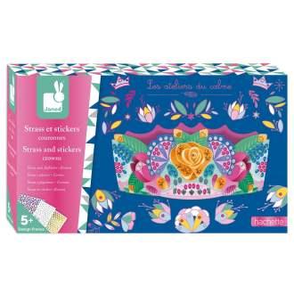 Kit créatif - Strass et stickers couronnes - JANOD - Lovely Choses