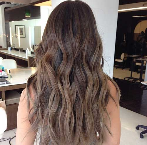 Best Ash Brown Layered Hairstyles For Long Hair
